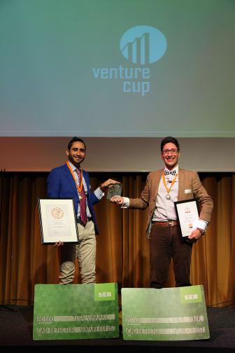 Vinnare i Life science & Teknik samt Totalvinnare av Venture Cup Öst - CAD Detector