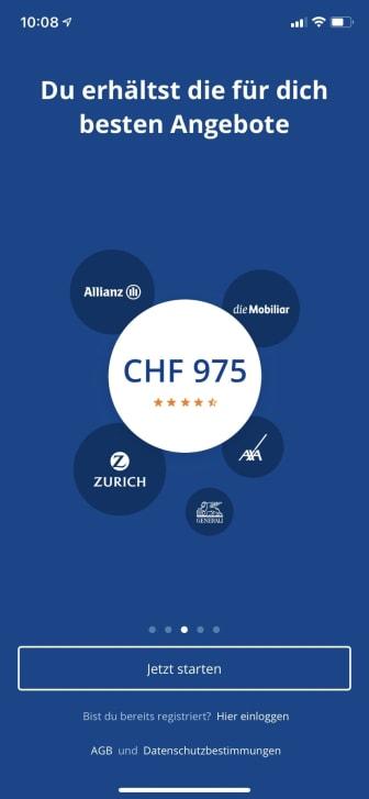 FinanceScout24 Insurance Check App_1