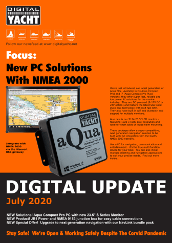 Digital Yacht Update July 2020 - Download Now