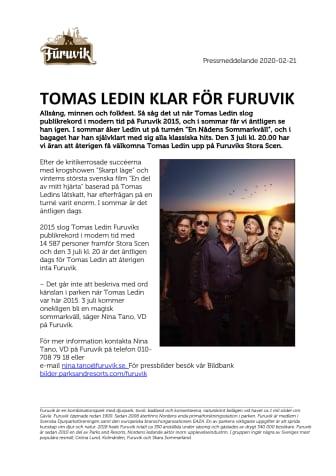 Tomas Ledin klar för Furuvik
