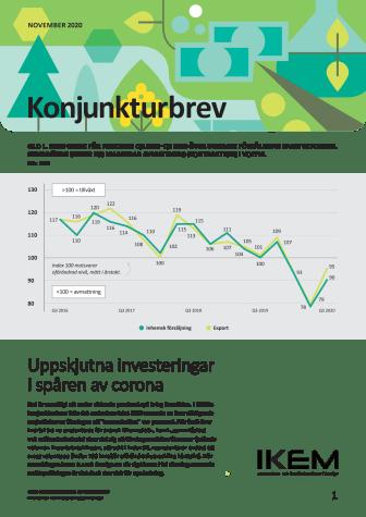 IKEM:s konjunkturbrev november 2020