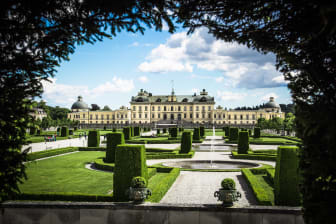 Drottningholms slottsträdgård.