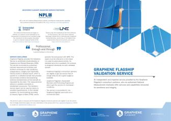 Graphene Flagship - The Validation Service