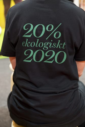 20% Ekologiskt 2020 t-shirt