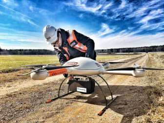 Drohnen-Vermessung für 3D-Digital-Modelle