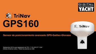 GPS160, un nuevo sensor de posicionamiento de alto rendimiento que utiliza GPS, Glonass y el nuevo sistema de satélites Galileo