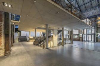 KKM Kraftwerk Mitte, Dresden, Foyer