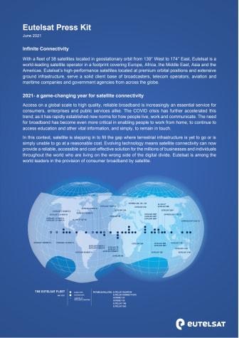 Eutelsat press kit: June 2021
