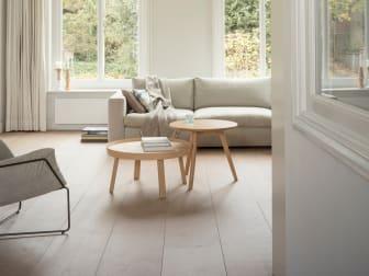 CetaBever Natuurlijk Effect woonkamer houten vloer