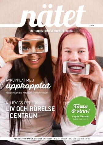 Nätet, en tidning från Sandviken Energi, nummer 1 2016