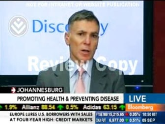 Adrian Gore interview on Bloomberg TV