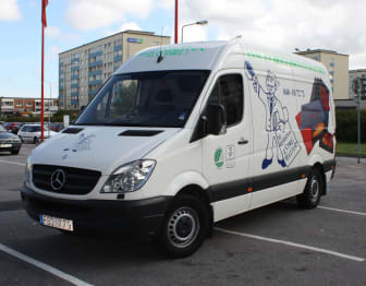 Ännu en biogasdriven mattbil!