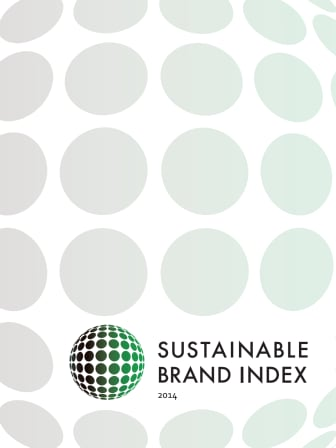 Official Report - Sustainable Brand Index™ 2014