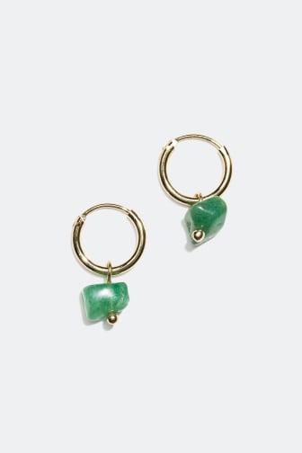 Earrings with semi precious stones - 69.90 kr