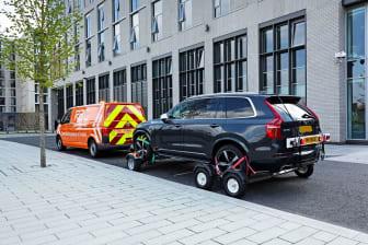 An RAC patrol van with All-Wheels-Up technology