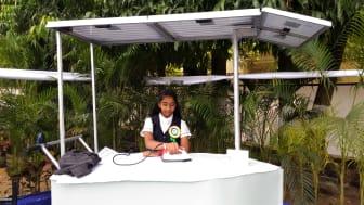 Vinisha Umashankar - Solar Ironing Cart