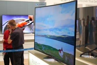 Buet 65-tommer TV fra Samsung