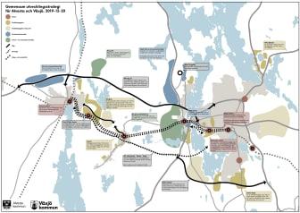 Alvesta och Växjö kommun sätter gemensam utvecklingsstrategi
