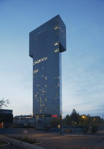 Scandic Victoria Tower, Exterior