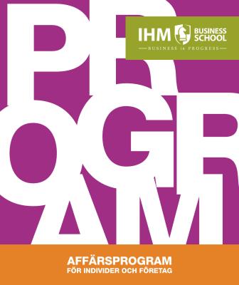 IHM öppna program 2014