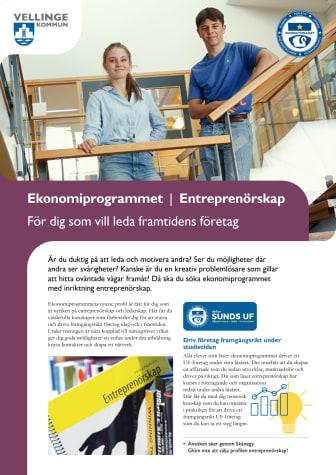 Programblad_Entreprenörskap.pdf