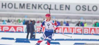 Tiril Eckhoff, jaktstart kvinner, VM i Holmenkollen 2016