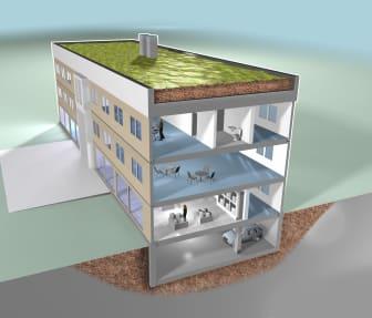Hållbart byggande, Saint-Gobain