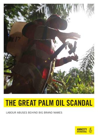 Indonesien: Barnarbete och diskriminering av kvinnor vid tillverkning av palmolja