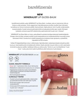 bareMinerals MINERALIST Gloss-Balm Press Release FI.pdf