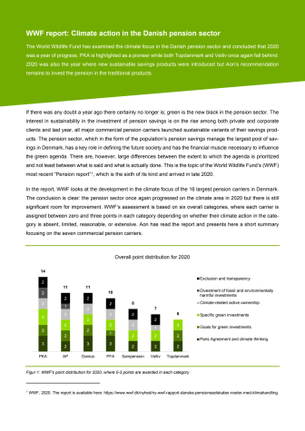 Aon's comment to the WWF Pension Report 2020