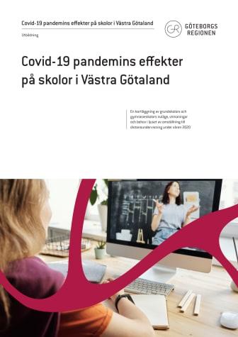 Kartläggningsrapport: Covid-19 pandemins effekter på skolor i Västra Götaland