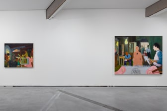 Installation view: Nicole Eisenman - Giant Without a Body. (c) Astrup Fearnley Museet / Photo: Christian Øen