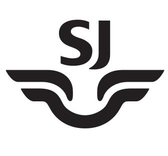 SJs logg i svart