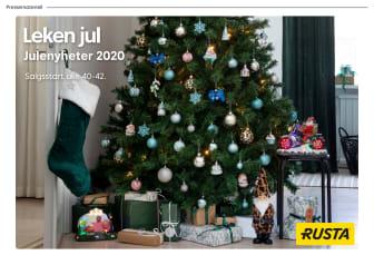 Pressemateriell leken jul - Julen 2020