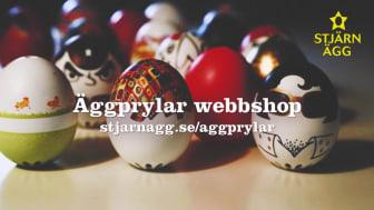 Stjärnägg lanserar webbshop för äggprylar!