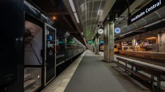 Nattåg sovvagn Stockholm C