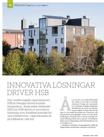 Innovativa lösningar driver HSB