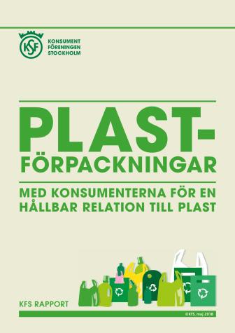 Konsumenterna beredda att betala mer för återvinningsbar plast
