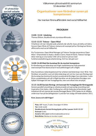 Organisationer som förändrar synen på kompetensen -  Kostnadsfritt seminarium 10 dec!