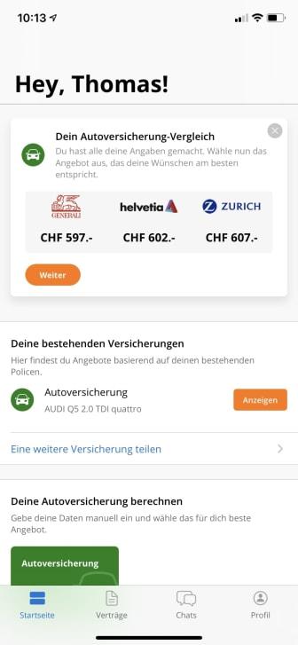 FinanceScout24 Insurance Check App_5
