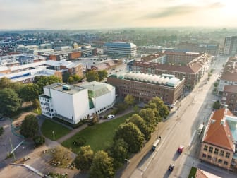 Flygfoto Halmstad