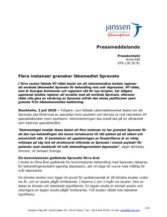 Pressmeddelande Spravato 2 juni (pdf)