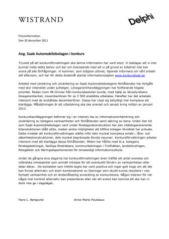 Ang. Saab Automobilebolagen i konkurs