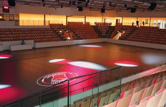 Arenan är hemmaarena åt kommunens största innebandyklubb Pixbo Wallenstam
