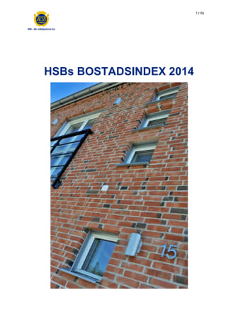 Bostadsindex 2014