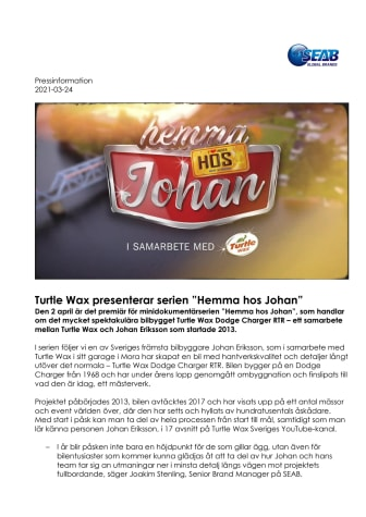 Turtle Wax presenterar serien Hemma hos Johan vers final.pdf