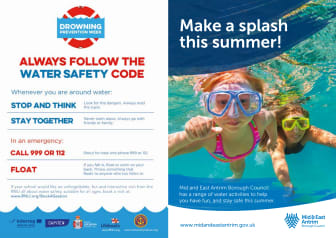 Council makes waves for Drowning Prevention Week