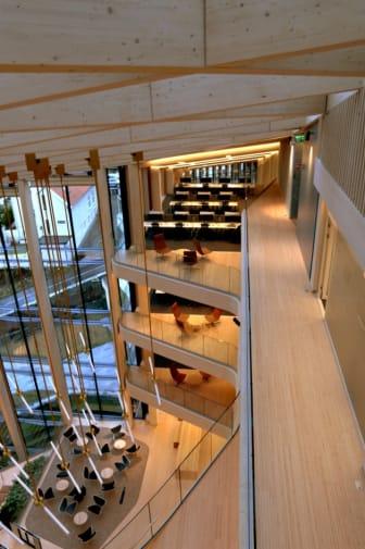 Finansparken fra 7. etasje