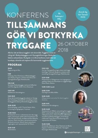 Trygghetskonferens 26/10 2018 Inbjudan och program