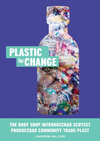 Plastic For Change - The Body Shop introducerar återvunnen Community Fair Trade-plast!